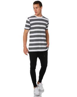 BLACK MENS CLOTHING ZANEROBE PANTS - 708-MAKBLK
