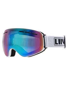 WHITE BOARDSPORTS SNOW LIIVE VISION GOGGLES - L0690BWHT
