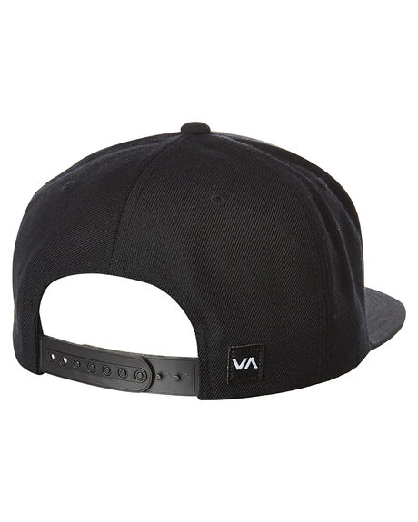 BLACK WHITE MENS ACCESSORIES RVCA HEADWEAR - R361573ABWHI