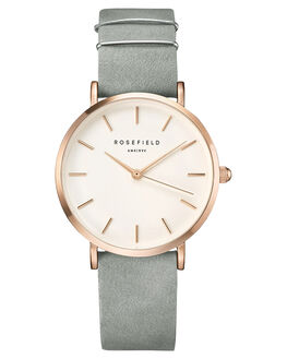 MINT GREY ROSE GOLD WOMENS ACCESSORIES ROSEFIELD WATCHES - WMGR-W74MINGR
