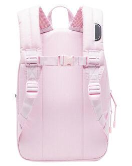 PINK CROSSHATCH KIDS GIRLS HERSCHEL SUPPLY CO BAGS + BACKPACKS - 10313-02565-OSPKCRS