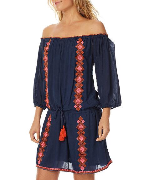INDIGO WOMENS CLOTHING TIGERLILY DRESSES - T375411INDG