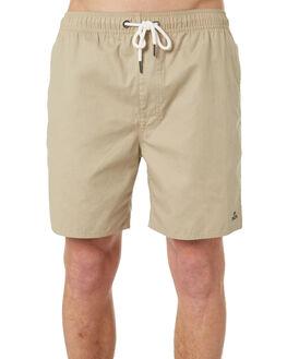 GOLDRUSH MENS CLOTHING RVCA BOARDSHORTS - R182414GLDRS