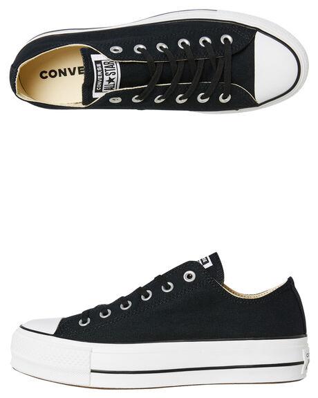 43366aa091f Converse Womens Chuck Taylor All Star Lift Ox Shoe - Black Garnet ...