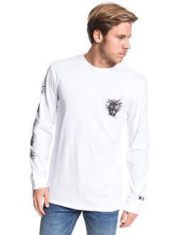 WHITE MENS CLOTHING QUIKSILVER TEES - EQYZT05714-WBB0
