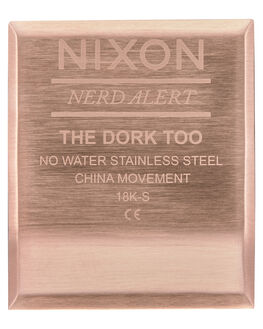 ALL ROSE GOLD MENS ACCESSORIES NIXON WATCHES - A1266-897