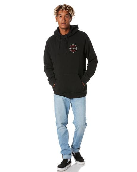 BLACK MENS CLOTHING DEUS EX MACHINA JUMPERS - DMP208420BBLK