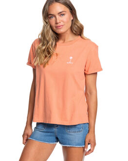 CANYON CLAY WOMENS CLOTHING ROXY TEES - ERJZT04780-MJR0