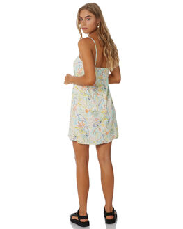 WHITE SUMMER WOMENS CLOTHING COOLS CLUB DRESSES - 203-CW5WHTSM