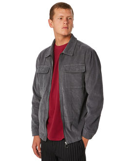 GREY MENS CLOTHING NO NEWS JACKETS - N5183381GREY