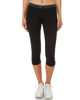 BLACK WOMENS CLOTHING RIP CURL ACTIVEWEAR - GPADD10090