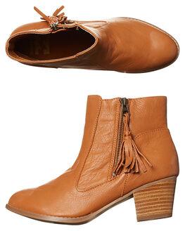 TAN WOMENS FOOTWEAR BILLABONG BOOTS - 6675874TAN