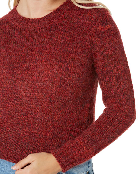 RUBY WINE WOMENS CLOTHING RUSTY KNITS + CARDIGANS - CKL0374RUW