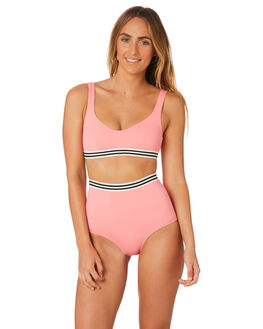 FLAMINGO WOMENS SWIMWEAR SOLID AND STRIPED BIKINI BOTTOMS - WS-2009-1603FLM