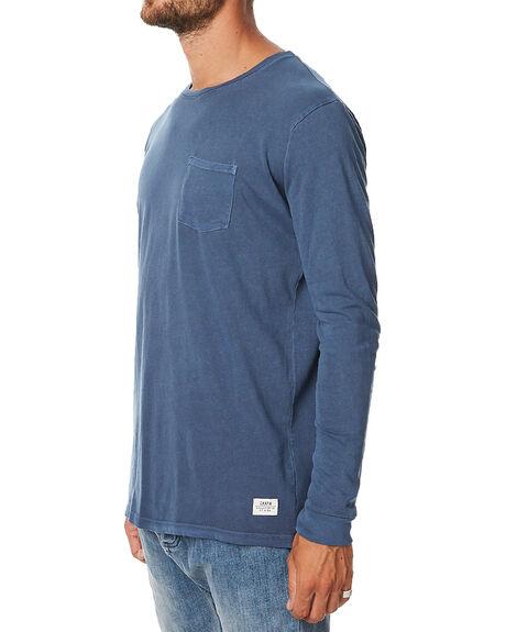 NAVY MENS CLOTHING KATIN TEES - KNBASIF16NVY