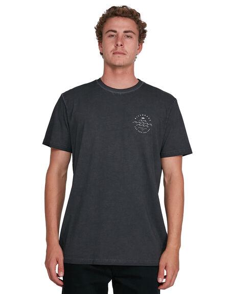 BLACK MENS CLOTHING BILLABONG TEES - BB-9503012-BLK