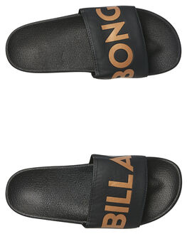 ROSE GOLD WOMENS FOOTWEAR BILLABONG SLIDES - 6681801ROS