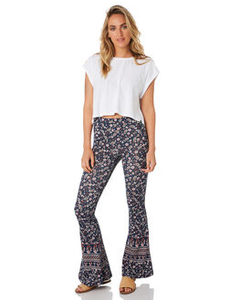 NAVY WOMENS CLOTHING THE HIDDEN WAY PANTS - H8184203NAVY