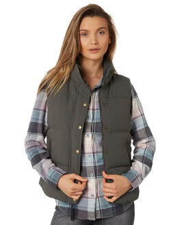 FORGE GREY WOMENS CLOTHING PATAGONIA JACKETS - 27875FGE
