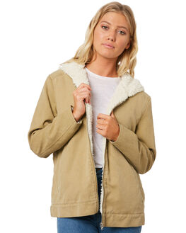 WHEAT WOMENS CLOTHING BILLABONG JACKETS - 6596891W15