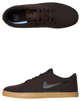 VELVET BROWN MENS FOOTWEAR NIKE SKATE SHOES - 843896-201