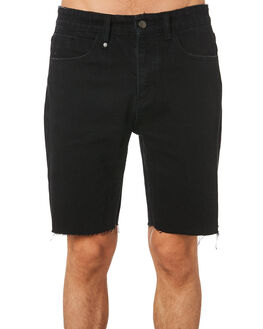 FADED BLACK MENS CLOTHING THRILLS SHORTS - TDP-314EFBLK
