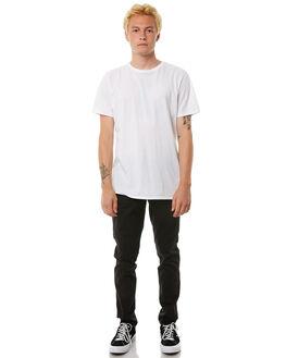 BLACK MENS CLOTHING ACADEMY BRAND PANTS - 18W104BLK