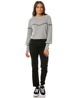 JET BLACK WOMENS CLOTHING ROLLAS JEANS - 12227629
