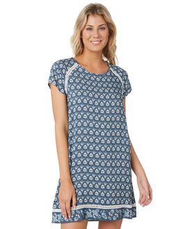 SLATE BLUE WOMENS CLOTHING RIP CURL DRESSES - GDRIF11115