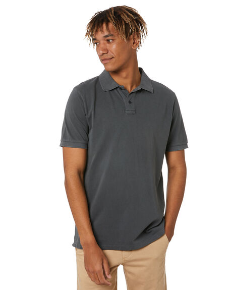 CHARCOAL MENS CLOTHING ACADEMY BRAND SHIRTS - 21S420CHAR
