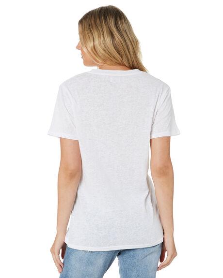 WHITE WOMENS CLOTHING SWELL TEES - S8201006WHI