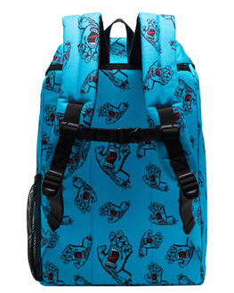SANTA CRUZ BLUE KIDS BOYS HERSCHEL SUPPLY CO BAGS + BACKPACKS - 10589-02573-OSSCB