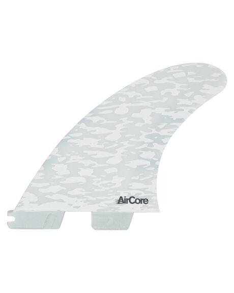 BLACK WHITE BOARDSPORTS SURF FCS FINS - FJWM-PC04-MD-TS-RBLK