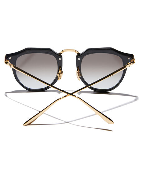 GLOSS BLACK GOLD MENS ACCESSORIES VALLEY SUNGLASSES - S0356GBLK