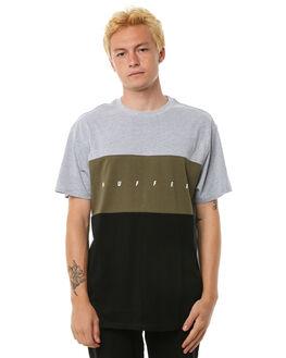 GREY MARLE MENS CLOTHING HUFFER TEES - MTE81S2210GRYM