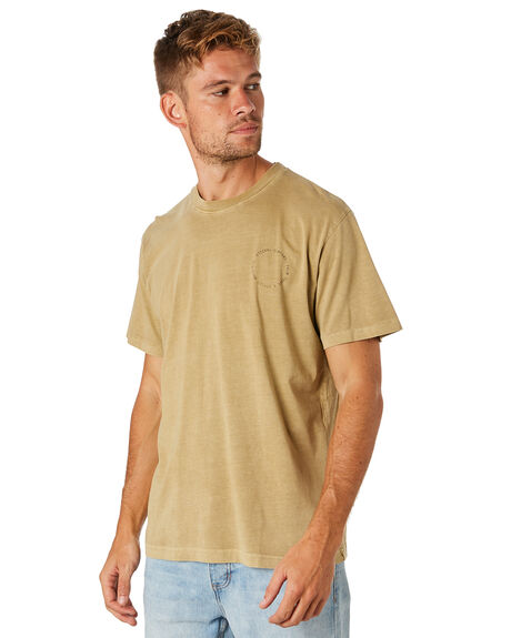 TAN MENS CLOTHING THRILLS TEES - TS8-136CTAN