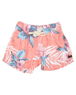 RED KIDS TODDLER BOYS RIP CURL BOARDSHORTS - OBOOO10040