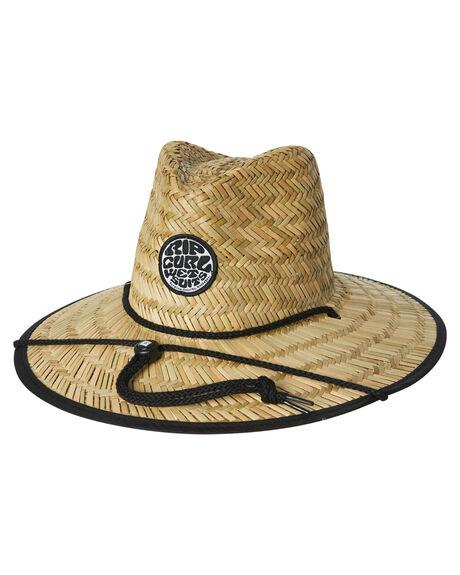 eb9f05e7fd5 Rip Curl Tots Boys Wetty Straw Hat - Black