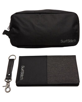 BLACK MENS ACCESSORIES SURFSTITCH BAGS + BACKPACKS - S51741859BLK