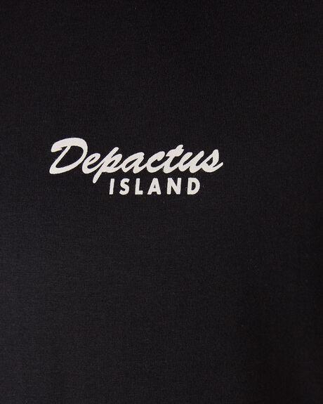 BLACK OUTLET MENS DEPACTUS TEES - D5194004BLACK