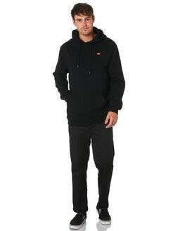 BLACK MENS CLOTHING GLOBE JUMPERS - GB01933011BLK