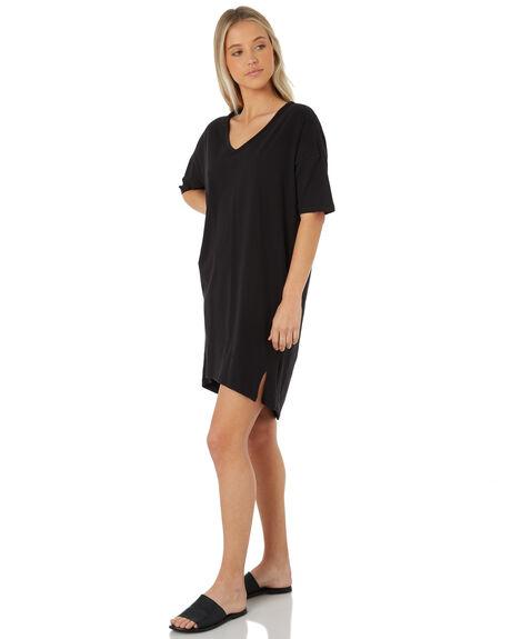 BLACK WOMENS CLOTHING SWELL DRESSES - S8183450BLACK