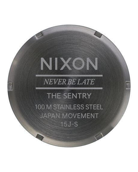 GUN BLACK BROWN MENS ACCESSORIES NIXON WATCHES - A1052737