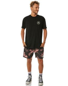 BLACK MENS CLOTHING STUSSY SHORTS - ST073602BLK
