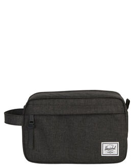 BLACK CROSSHATCH MENS ACCESSORIES HERSCHEL SUPPLY CO BAGS + BACKPACKS - 10039-02090-OSBLKXH