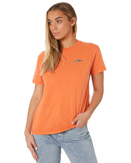 SUNSET WOMENS CLOTHING RUSTY TEES - TTL1048SUS
