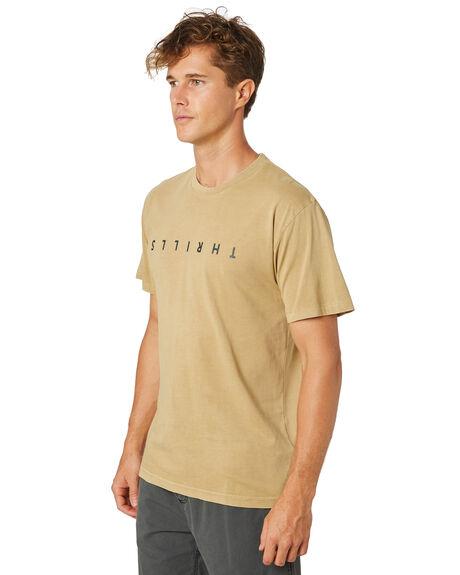 TAN MENS CLOTHING THRILLS TEES - TR8-106CTAN