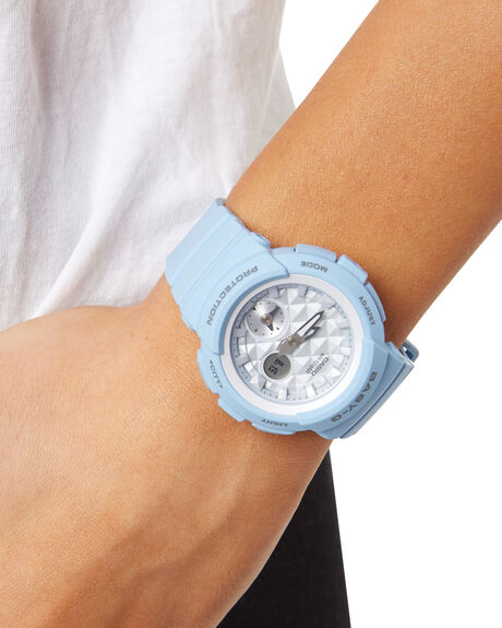 BLUE WOMENS ACCESSORIES BABY G WATCHES - BGA190BE-2ABLU