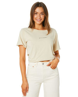 THRIFT WHITE WOMENS CLOTHING THRILLS TEES - WTA20-100ATHWHT