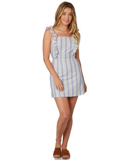 BLUE W GREY WOMENS CLOTHING THE FIFTH LABEL DRESSES - 40181020-4BLUE